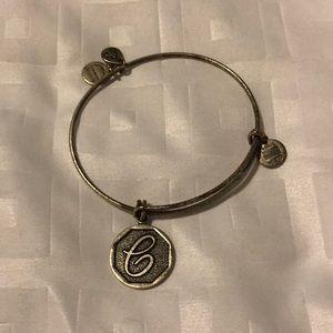 Alex and Ani letter C Bracelet